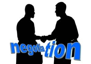 Negotiating vs litigating