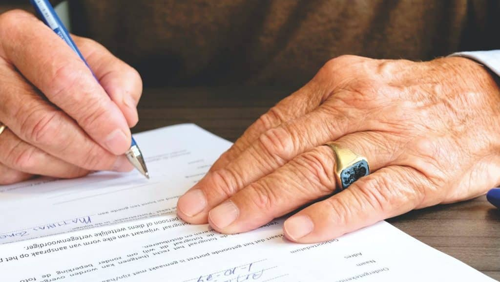 signing estate planning documents