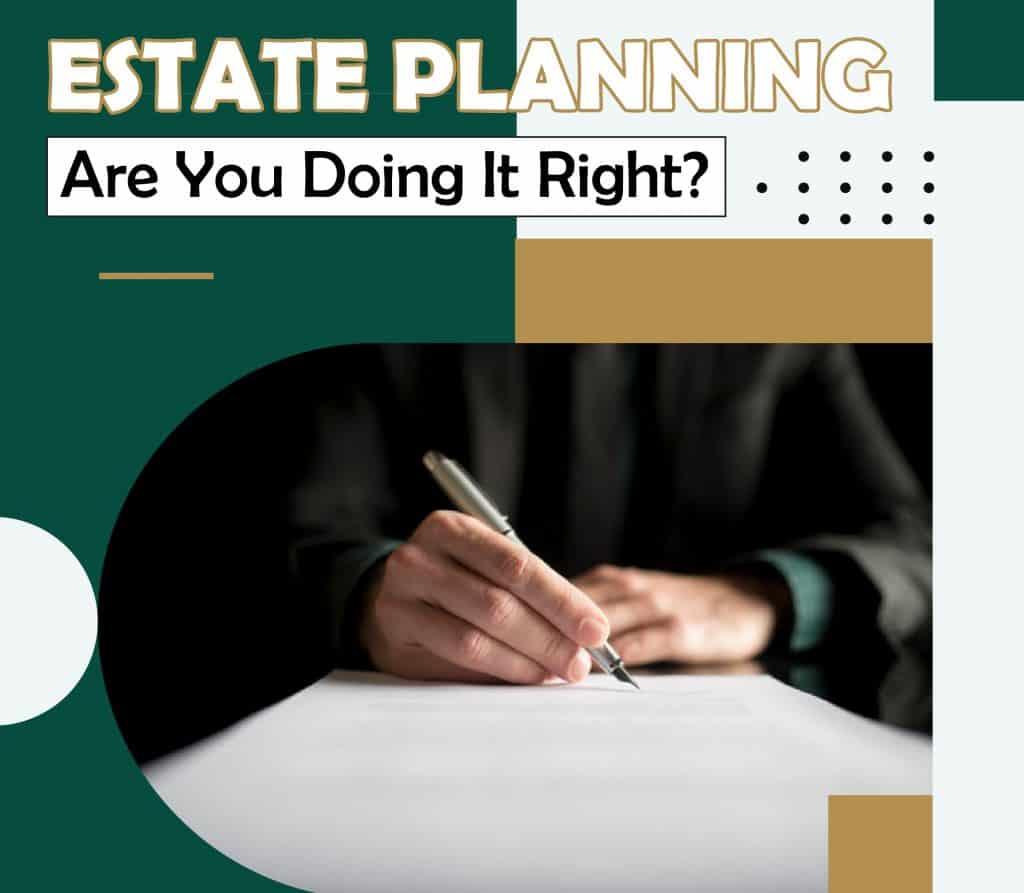 Estate Planning Infograph