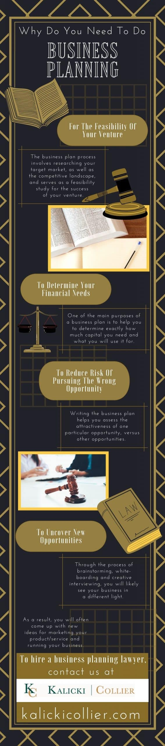 Why do you need to do business planning - Infograph